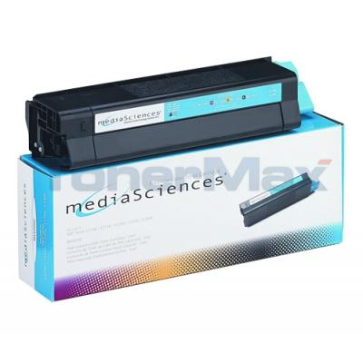 MEDIA SCIENCES TONER CYAN FOR OKI C5000